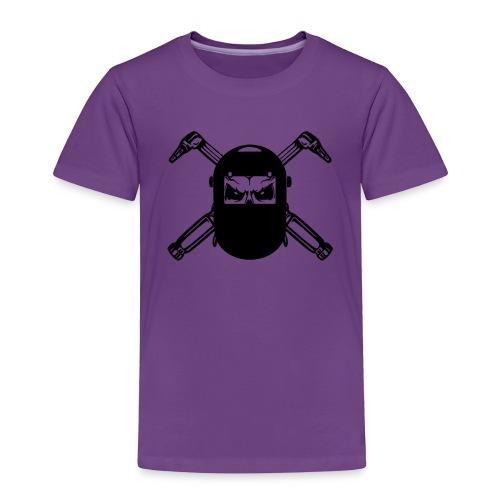Welder Skull - Toddler Premium T-Shirt