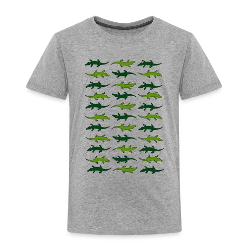 Crocs and gators - Toddler Premium T-Shirt