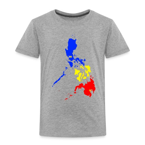 Philippines map art - Toddler Premium T-Shirt