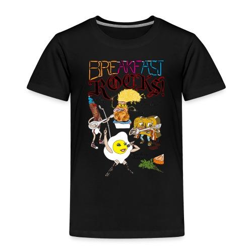 Breakfast Rocks! - Toddler Premium T-Shirt