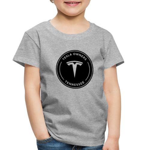 Tesla Owners Logo Black - Toddler Premium T-Shirt