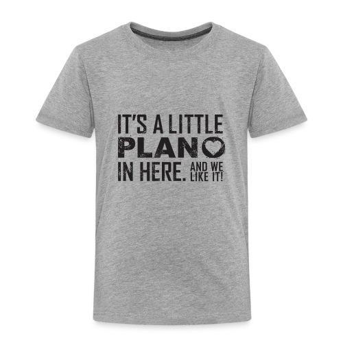 its a little plano tee - Toddler Premium T-Shirt