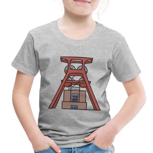 Zollverein Coal Mine Industrial Complex in Essen - Toddler Premium T-Shirt