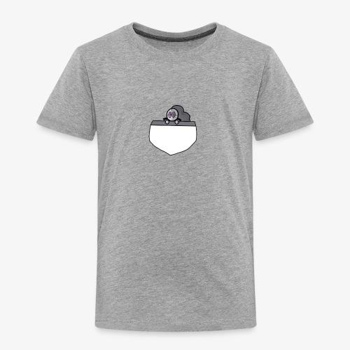 Gray Pocket Buddy - Toddler Premium T-Shirt