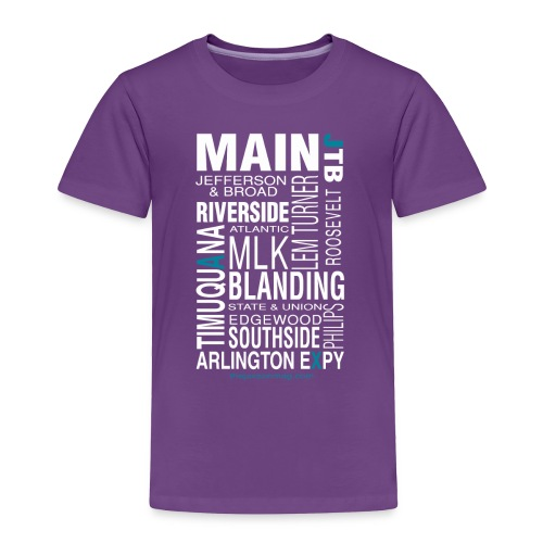Jacksonville Streets - Toddler Premium T-Shirt