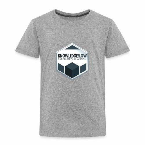 KnowledgeFlow Cybersafety Champion - Toddler Premium T-Shirt