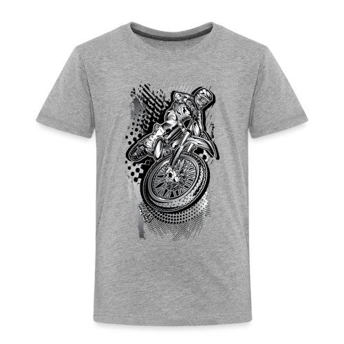 MX Dirt Bike Grunge - Toddler Premium T-Shirt