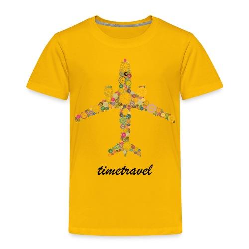 Time To Travel - Toddler Premium T-Shirt