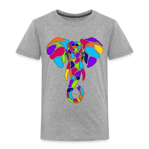 Art Deco elephant - Toddler Premium T-Shirt