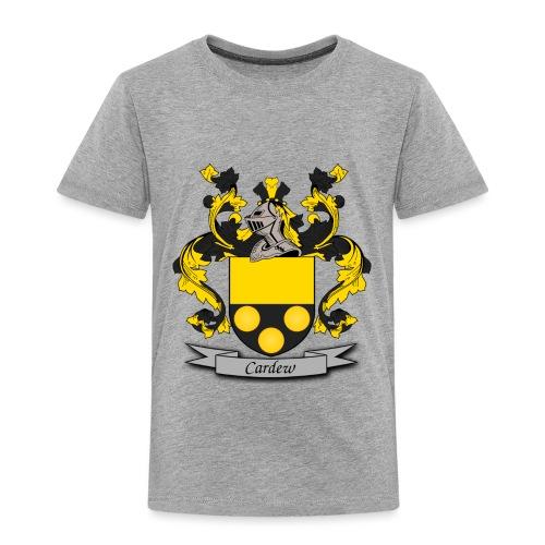 Cardew Family Crest - Toddler Premium T-Shirt
