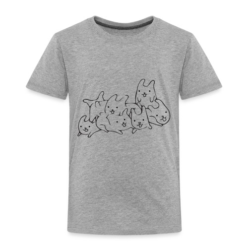 Bunnies - Toddler Premium T-Shirt