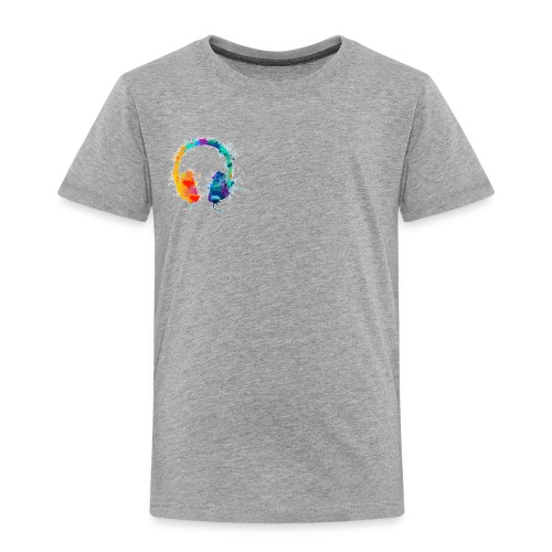 Colourful headset - Toddler Premium T-Shirt