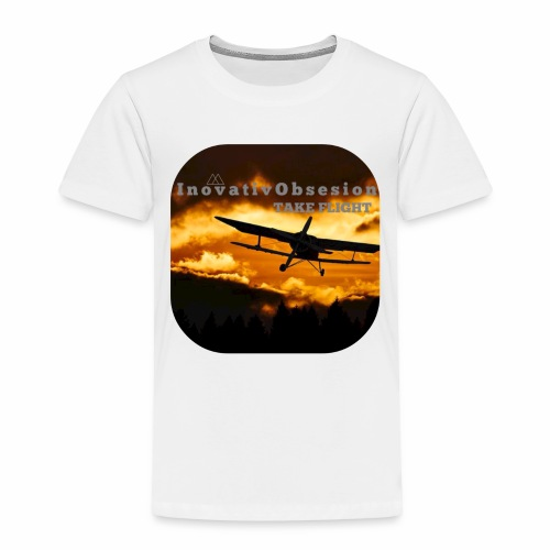 "InovativObsesion ""TAKE FLIGHT"" apparel - Toddler Premium T-Shirt"