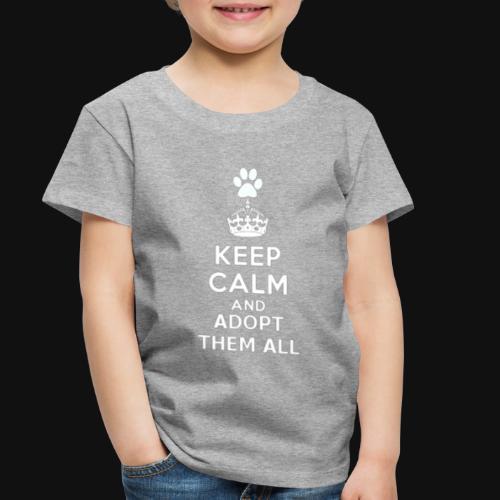 KEEP CALM2 white - Toddler Premium T-Shirt