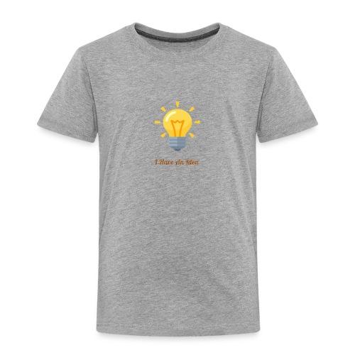 Idea Bulb - Toddler Premium T-Shirt