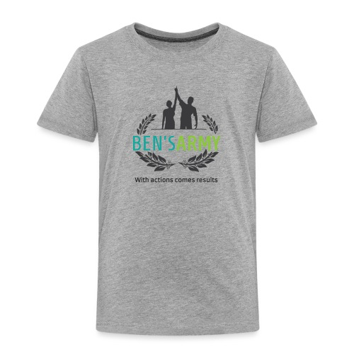 BensArmy Final Logo - Toddler Premium T-Shirt