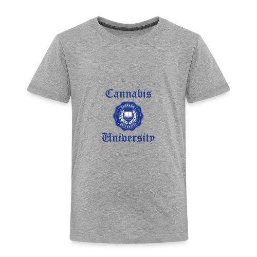 Cannabis University Text - Toddler Premium T-Shirt