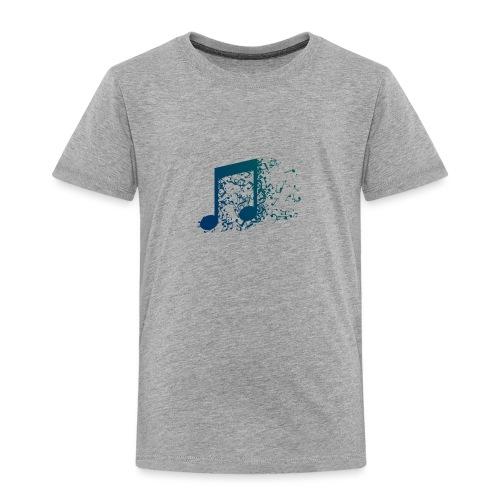 Music note spill - Toddler Premium T-Shirt