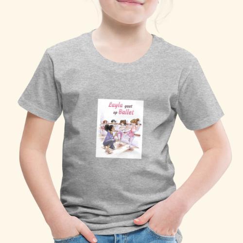 Layla gaat op ballet Cover - Toddler Premium T-Shirt