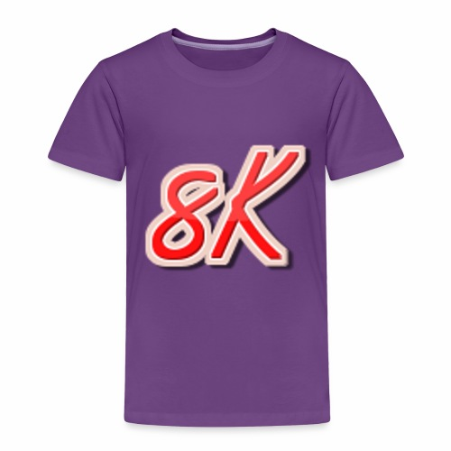 8K - Toddler Premium T-Shirt