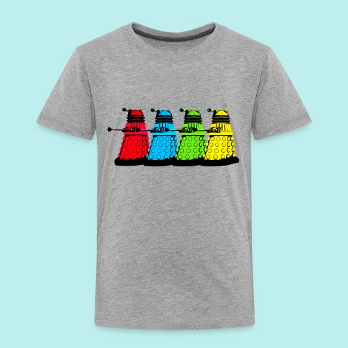 Dalek Four Colours - Toddler Premium T-Shirt