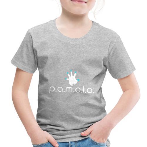 P.A.M.E.L.A. Logo White - Toddler Premium T-Shirt