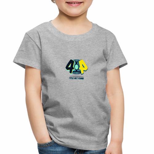 404 Logo - Toddler Premium T-Shirt