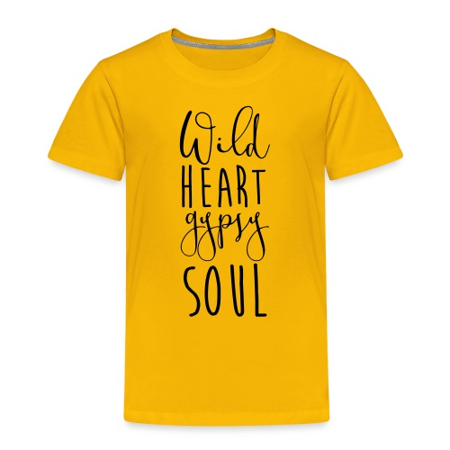Cosmos 'Wild Heart Gypsy Sould' - Toddler Premium T-Shirt