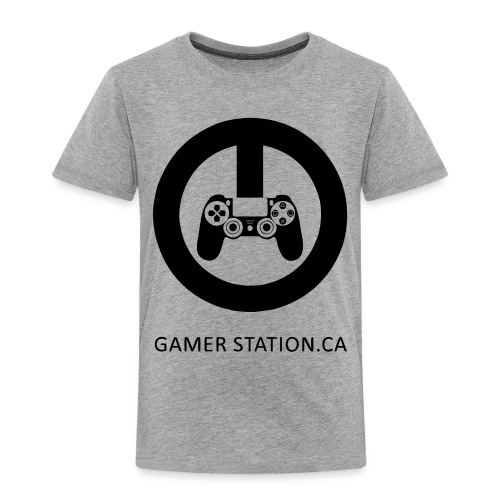 GamerStation.ca logo - Toddler Premium T-Shirt