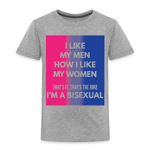 Bisexual - Bi - LGBT - Gay Pride - Gift - Toddler Premium T-Shirt