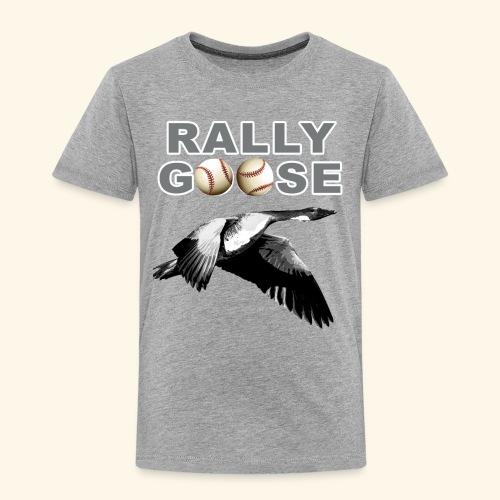 Detroit Rally Goose Baseball Lucky Charm Design - Toddler Premium T-Shirt