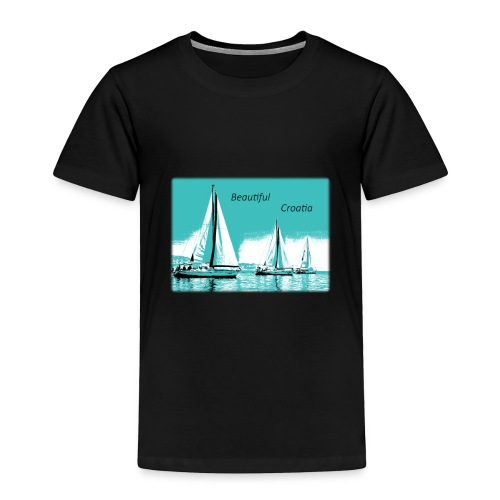 Beautiful Croatia - Toddler Premium T-Shirt