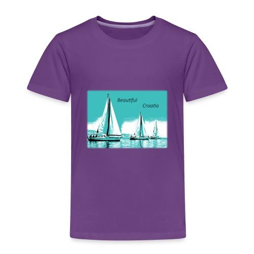 Beautiful Croatia - Toddler Premium T-Shirt