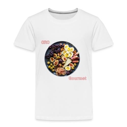 Croatian Gourmet - Toddler Premium T-Shirt
