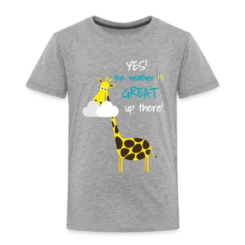 Funny Giraffe T-shirt for men women kids - Toddler Premium T-Shirt