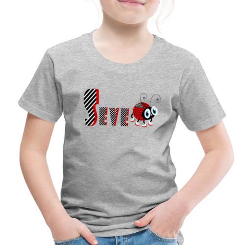 7nd Year Family Ladybug T-Shirts Gifts Daughter - Toddler Premium T-Shirt