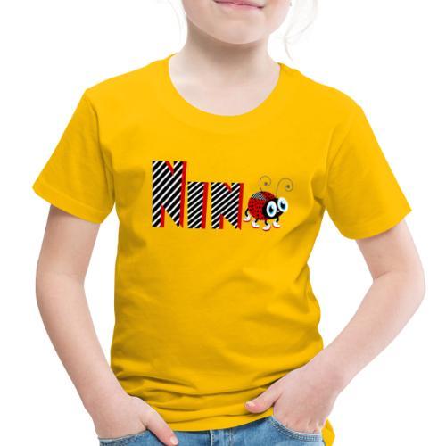 9nd Year Family Ladybug T-Shirts Gifts Daughter - Toddler Premium T-Shirt