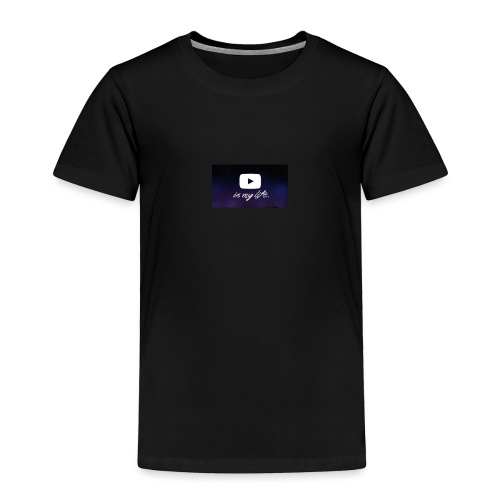 my life is youtube poster - Toddler Premium T-Shirt