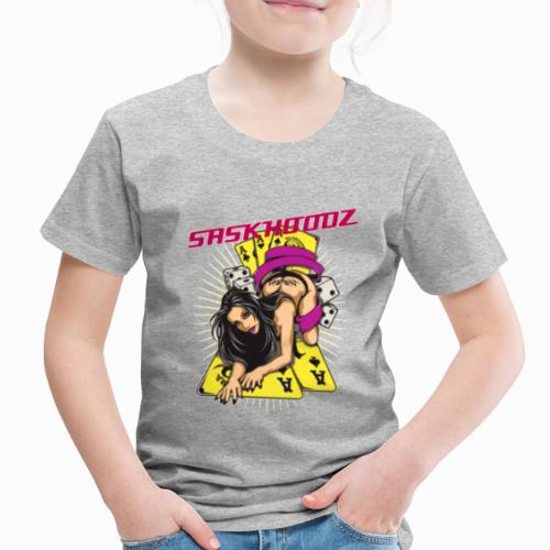 saskhoodz girl - Toddler Premium T-Shirt