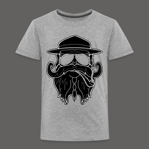 OldSchoolBiker - Toddler Premium T-Shirt