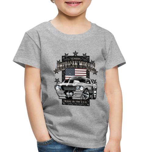 Classic American Muscle Car - Toddler Premium T-Shirt