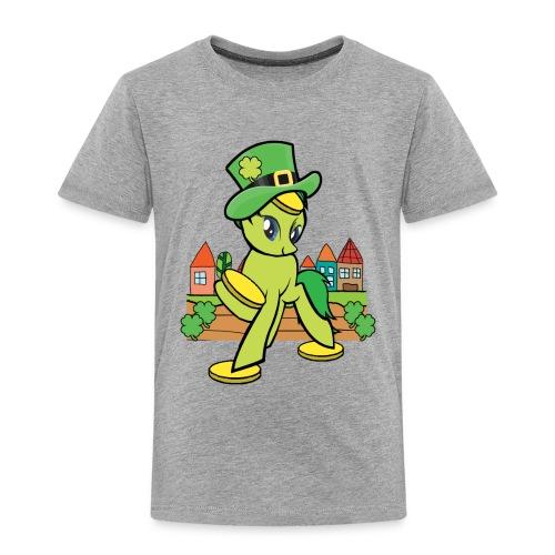 Irish Lucky Pony - Toddler Premium T-Shirt
