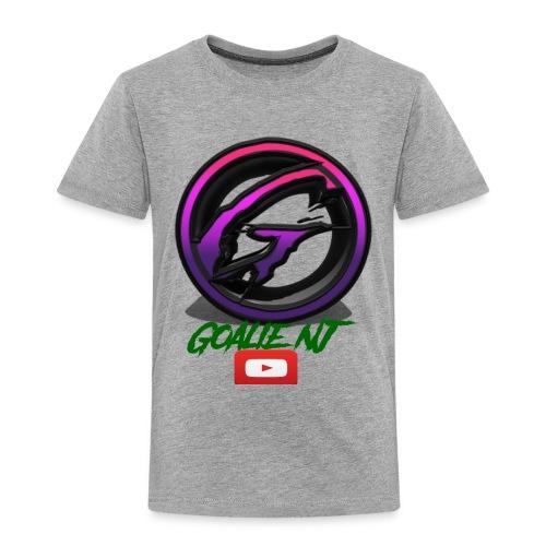 goalie nj logo - Toddler Premium T-Shirt