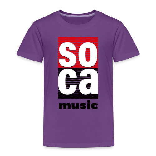 Soca music - Toddler Premium T-Shirt
