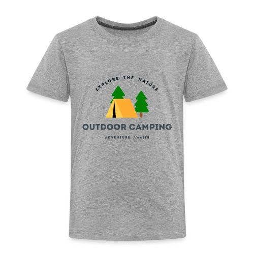 Outdoor Camping Adventure awaits T-shirt - Toddler Premium T-Shirt