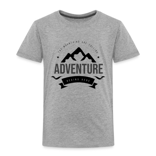 The mountains are calling T-shirt - Toddler Premium T-Shirt