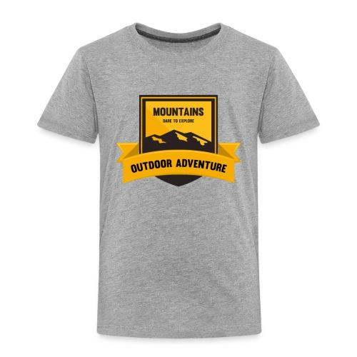 Mountains Dare to explore T-shirt - Toddler Premium T-Shirt