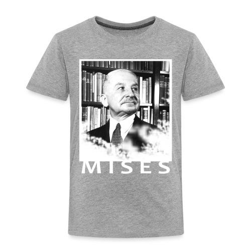 Ludwig von Mises Libertarian Design - Toddler Premium T-Shirt