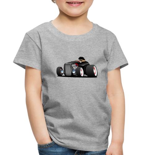 Classic Street Rod Hi Boy Roadster Cartoon - Toddler Premium T-Shirt