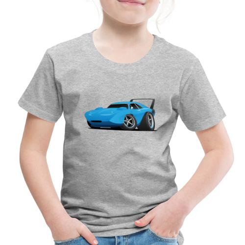 Classic American Winged Muscle Car Hot Rod - Toddler Premium T-Shirt